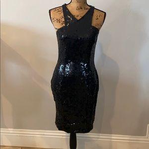 Cute sequin black dress